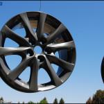 Steel Gray Pearlescent Aluminum Rims