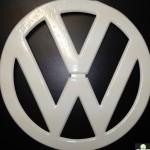 Powder Coated VW Emblem