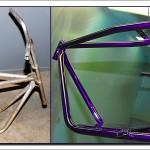Refurbished Taco mini bike frame
