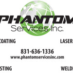 Credit Cards Accepted at Phantom Services, Inc.