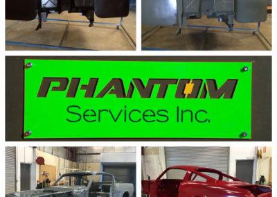 Powder Coating Services Phantom